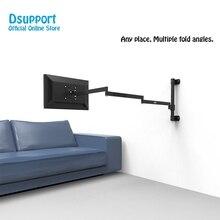 Wand Montieren Ultra Lange Arm Monitor Unterstützung Full Motion Monitor Halter Halterung