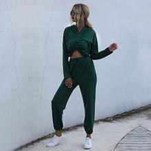 Комплект из двух предметов для женщин осенняя одежда 2020 комплект