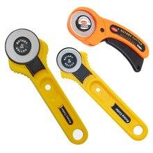 45mm 28mm Rotary Cutter für leder Set Klingen für stoff Rund Quilten Schneiden Patchwork Cut-Tool Quilter Leder cutter