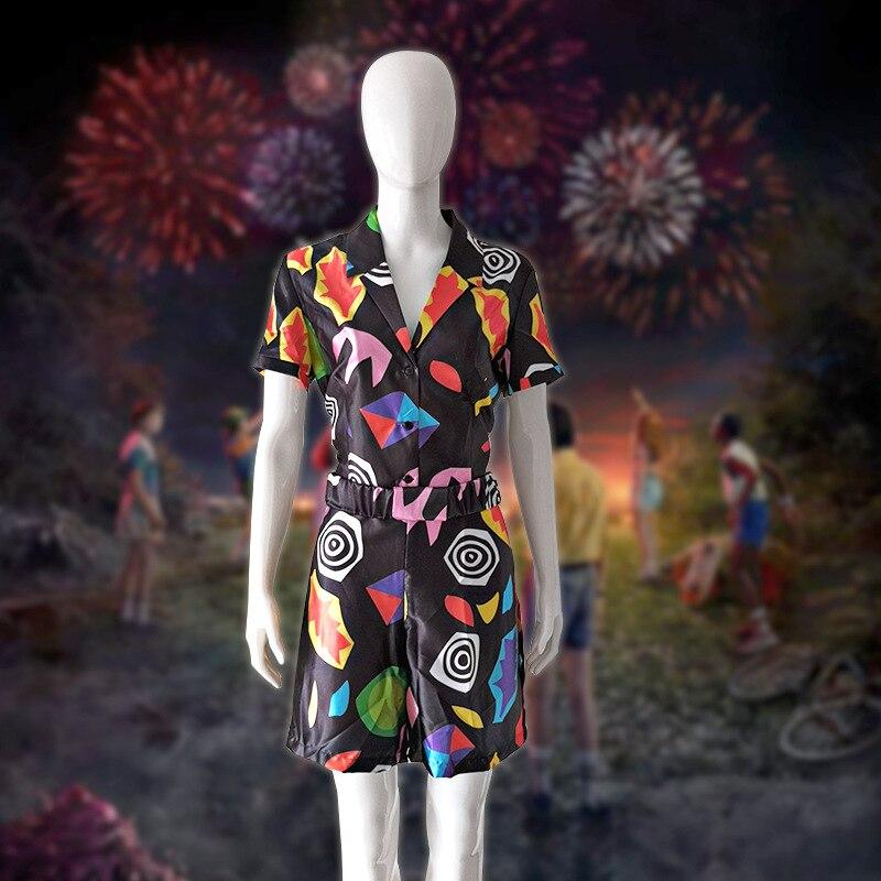 Costume acheter des choses étrangères 3 onze Cosplay Costume EL Cosplay robe filles femmes Halloween combinaison carnaval fête accessoires