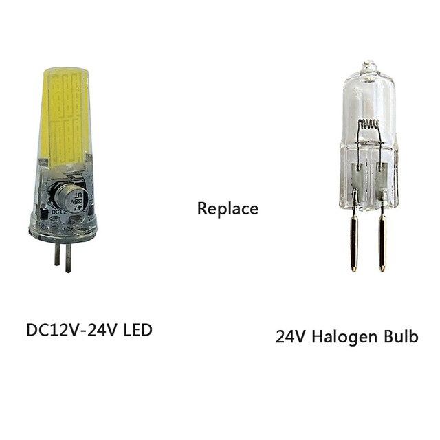 светодиодный светильник gy635 24 вт ac12v dc12v dc24v замена фотография