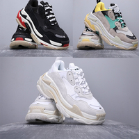 TRIPLE S TRAINERS FOR MEN/WOMEN Runner DAD SHOES Chunky SNEAKERS Zapatillas Deportivas
