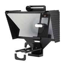 Telefon ve DSLR kayıt Mini Teleprompter taşınabilir Inscriber cep Teleprompter artefakt Video uzaktan kumanda ile