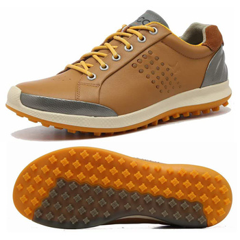 New Golf Shoes Spikeless for Man Golfer Walking Sneakers Waterproof Leather Sports Shoes Comfort Golf Tournament Shoes Male Shoe