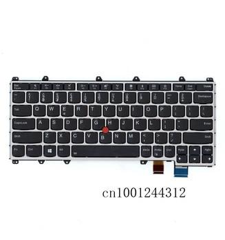 New Original For laptop Lenovo YOGA 370 Lithuania Layout Keyboard  01EN384