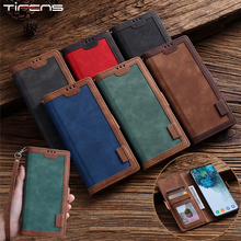 Luxury Leather Case For Samsung Galaxy S20 FE S10 E S9 Note 10 20 Ultra Plus Lite A81 A91 Flip Wallet Card Holder Magnetic Cover