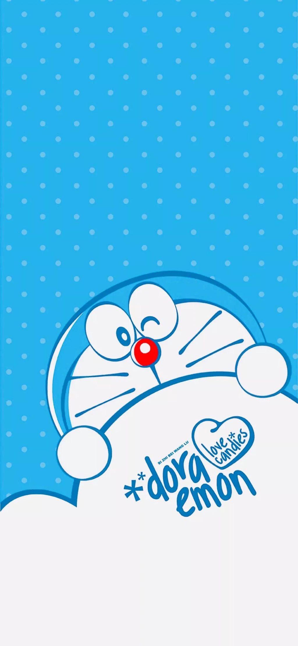 手机壁纸:蓝胖子、多啦A梦、叮当猫手机壁纸,赶紧换上。插图17