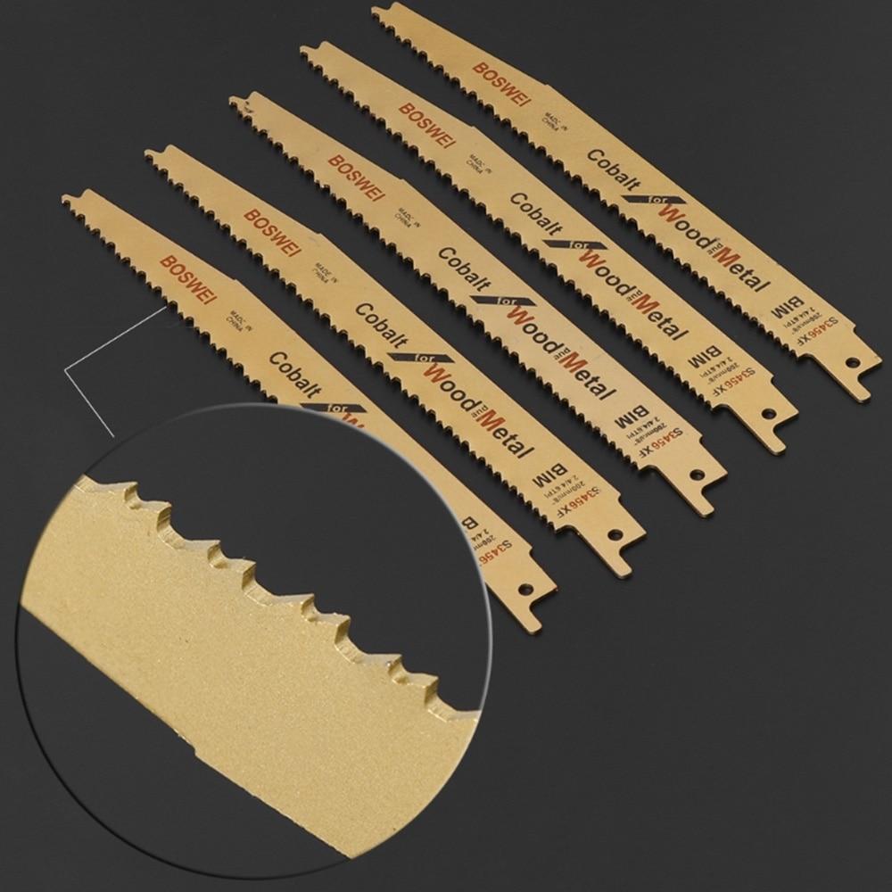 Bi-metal Saw Blades Yellow Metal Chipboard Sheet Metals Cutting Workshop