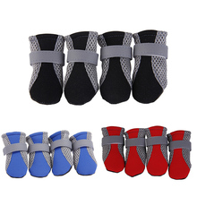 Puppy-Socks Shoes Rain-Boots Pet Protecters Dog Breathable Anti-Slip Cat Mesh for Small