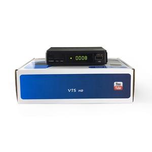 Image 5 - מקורי GT מדיה V7S HD HD מקלט לווין DVB S2 V7S מלא HD USB 2.0 DC 12V / 1.2A גבוהה איכות + משלוח אירופה 7 קליין cccam