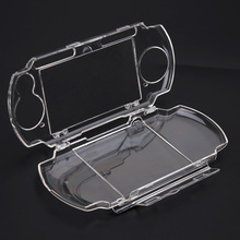 Case Carrying-Protect Psp 2000 Gamepad Protective-Shell Game-Console Hard-Cover Clear