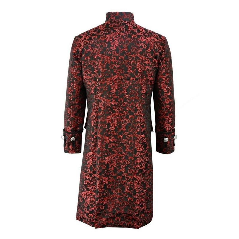 Haea7a93d84ef42e69ff27897c32642827 HEFLASHOR Men Edwardian Steampunk Trench Coat Frock Outwear Vintage  Overcoat Medieval Jacket Cosplay Costume