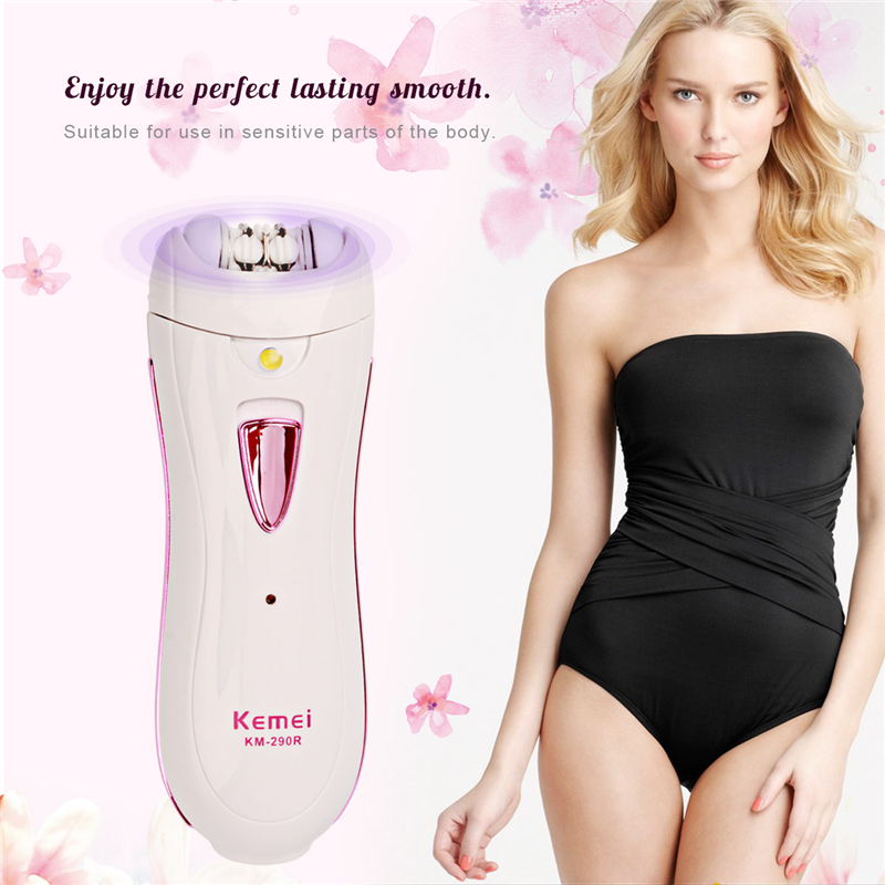 Electric Epilator Shaver Women Hair Removal Machine Shaving Trimmer  Female Body Face Razor Depilatory Bikini Depilador