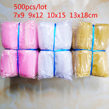 500pcs/lot Wholesale Organza Bags 7x9 9x12 10x15 13x18cm wedding packaging gift bag Party decoration jewelry bag organza pouches
