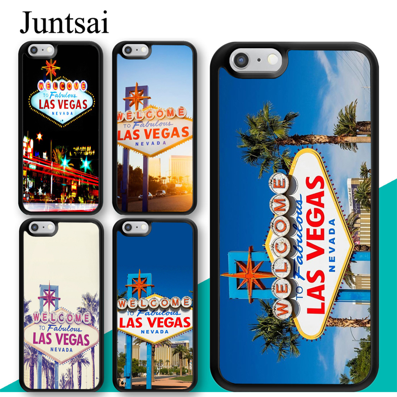 Las Vegas Sign Lights Nevada Rome Case For Iphone 11 Pro Max Xr Xs Max X 5s Se 2020 6s 7 8 Plus Cover Coque Fitted Cases Aliexpress