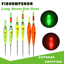 LED Fishing Float Electric Float Light Deep Water Float Fishing Tackle Ocean Boat Fishing Fishing De Pesca Free Battery CR425