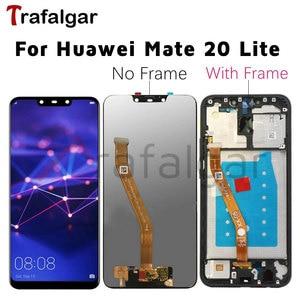Image 1 - 화웨이 메이트 20 라이트 LCD 디스플레이 터치 스크린 Mate20 라이트 SNE LX1 SNE LX3 화웨이 메이트 20 라이트 LCD 프레임 교체