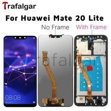 Para huawei companheiro 20 lite display lcd tela de toque mate20 lite SNE LX1 SNE LX3 para huawei companheiro 20 lite lcd com substituição do quadro