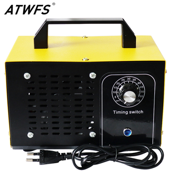 ATWFS 60g/48g Ozone Generator 220v Air Purifier for home Ozonator 36g Ozonizer Ozono Desinfection Cleaner Sanitizing Machine - discount item  30% OFF Household Appliances