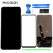 New for Hauwei Y9 Prime 2019 LCD Display Touch Screen Digitizer Assembly Parts for Huawei P smart Z Honor 9X Pro LCD Screen цена в Москве и Питере