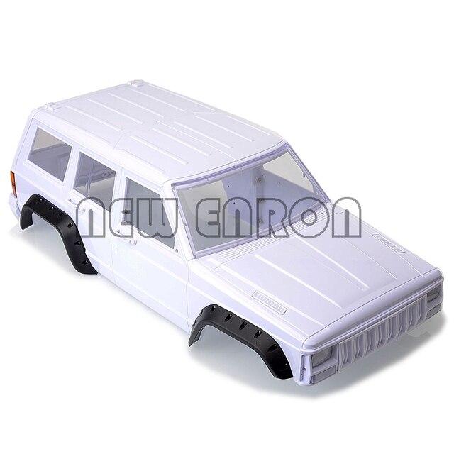 NEUE ENRON 1:10 RC AUTO Körper Shell 313mm Radstand Hartplastik Körper Shell Für RC 1/10 SCX10 & SCX10 II 90046 90047