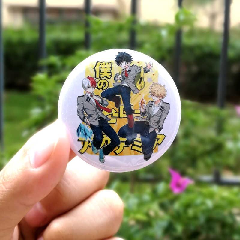Anime quente meu herói academia cosplay metal emblema dos desenhos animados boku nenhum herói academia broche pinos coleção sacos emblemas para mochilas