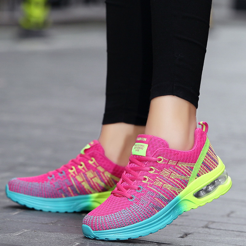 Haea8e7aa434d4dcb8b60e67a2daa8702D - WENYUJHNew Platform Sneakers Shoes Breathable Casual Shoes Woman Fashion Height Increasing Ladies Shoes Plus Size 35-42