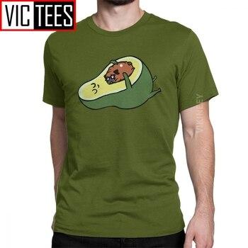 Camiseta del amor del aguacate de los hombres camiseta divertida del Humor de guacamol de la historieta de los hombres del algodón lindo de la vendimia al por mayor camiseta