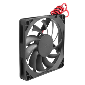 12V Cooler Fan for PC 2-Pin 80x80x10mm  Computer CPU System Heatsink Brushless Cooling Fan 8010 gdstime 18060 180x180x60mm 18cm 180mm ac cooling axial brushless fan cooler