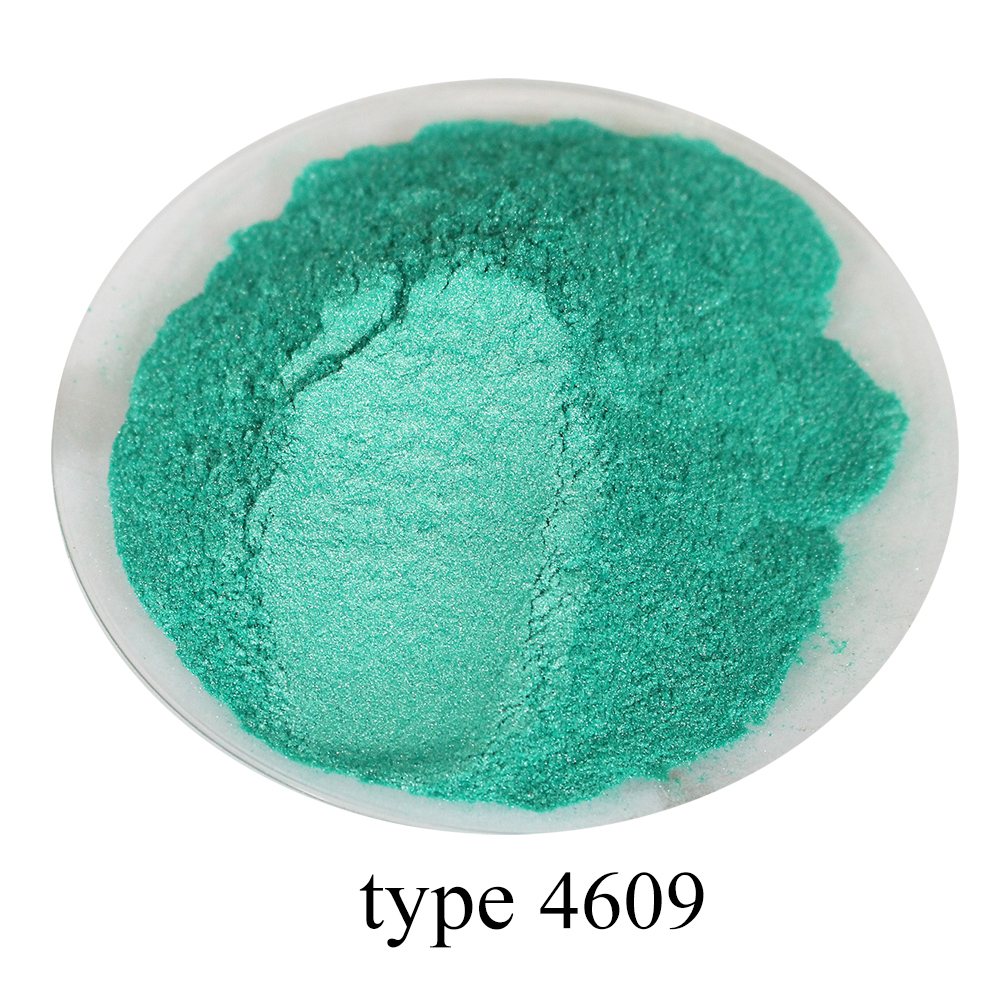 Type 4609 Pigment Pearl Powder Natural Mineral Mica Powder DIY Dye Dust Colorant  50g For Soap Eye Shadow Automotive Art Crafts
