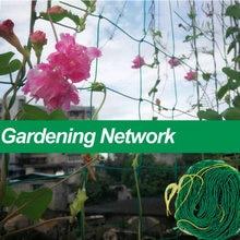 Зеленая нейлоновая сетка для сада поддержки восхождения выращивания