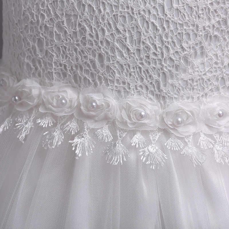 It's Yiya/Элегантное платье без рукавов с цветочным узором для девочек, вечерние платья с круглым вырезом для детей, платья для девочек на свадьбу, синий, белый, розовый, фиолетовый цвет, 981