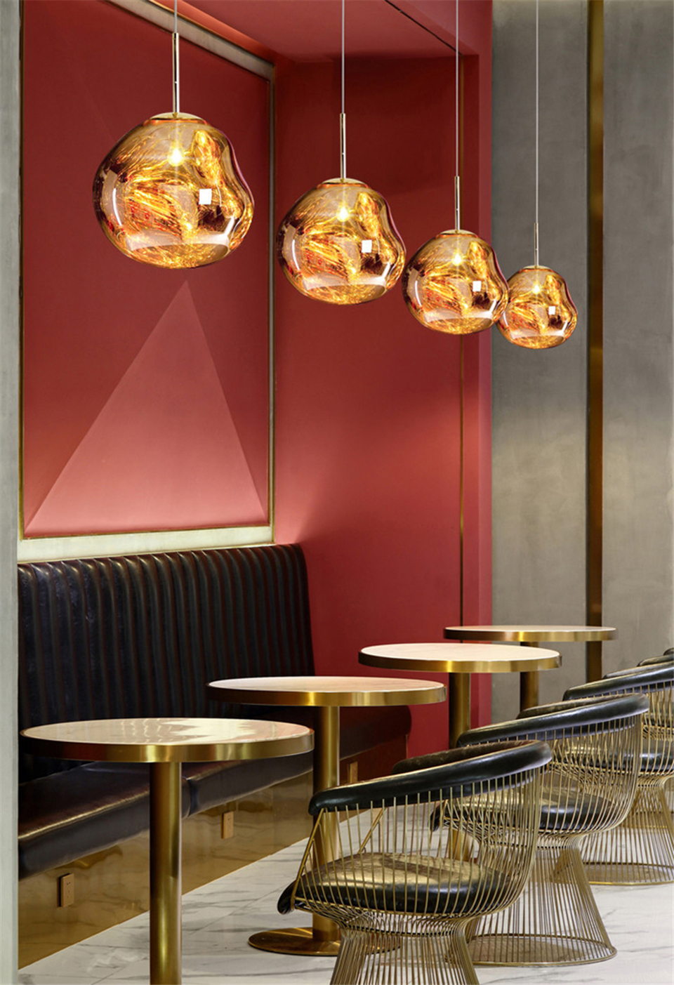 Geovancy Lava Pendant Lights use