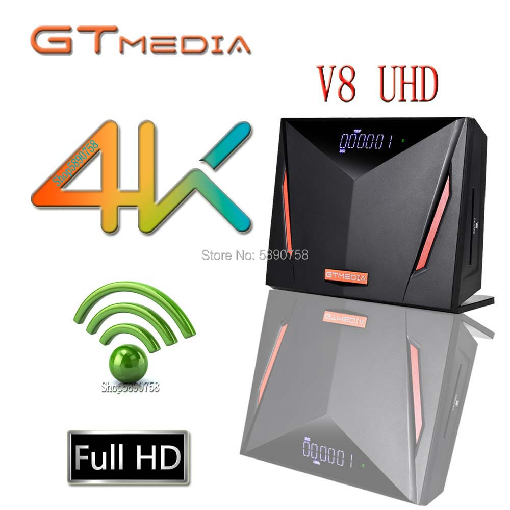 Новый спутниковый ресивер Gtmedia X8/V8 UHD DVB-S/S2/S2X, встроенный Wi-Fi обновленный приемник V8 NOVA V8X, H.265 1080p, без приложения
