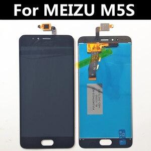 """Image 2 - 5.2 """"pour MEIZU M5S M612H M612M écran LCD + écran tactile numériseur verre lentille assemblée remplacement pour Meizu Meilan 5S LCD"""