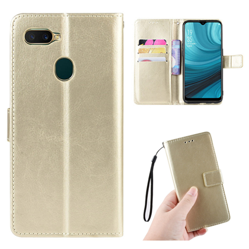For <font><b>OPPO</b></font> A7 AX7 <font><b>A5S</b></font> AX5S <font><b>Case</b></font> Luxury Flip PU Leather <font><b>Wallet</b></font> Lanyard Stand Protective <font><b>Case</b></font> For <font><b>Oppo</b></font> A 7 AX 7 A 5S AX 5S Phone Bag image
