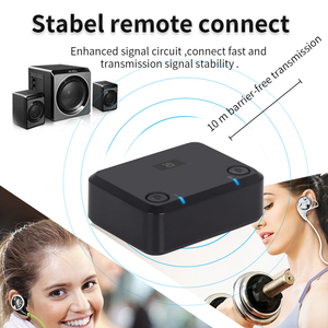 Image 4 - aptX LOW LATENCY Optical Audio Bluetooth Transmitter for TV Wireless Audio Adapter for Dual Headphones or Speakers MR270