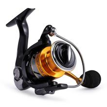 New Metal Head No Gap Fishing Reel Spinning Sea Rod