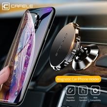 Cafele-soporte magnético para teléfono móvil, soporte para teléfono de coche, aleación de aluminio, Universal, soporte para móvil de coche, accesorios