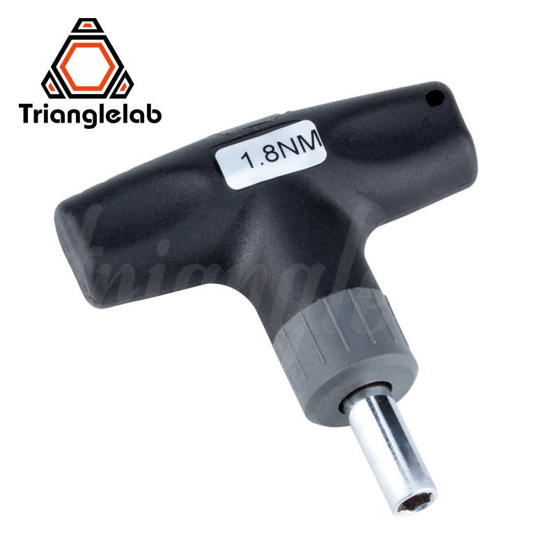 trianglelab Preset Torque Wrench 1.8N Safe and fast HEX SOCKET TORQUE WRENCH -7MM 8MM for 3D Printer Nozzle V6 volcano MK8