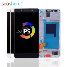 """5.2 """"Ban Đầu Cho HUAWEI Honor 7 Màn Hình Cảm Ứng LCD Bộ Số Hóa Cho Huawei Honor 7 Màn Hình Hiển Thị Có Khung Thay Thế PLK AL10"""