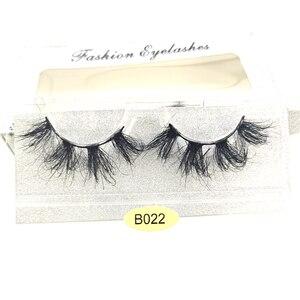 Image 3 - ใหม่ HBZGTLAD 3D Mink ขนตาปลอม Wispy CROSS Lashes Fluffy Handmade EXTENSION Mink Eyelashes