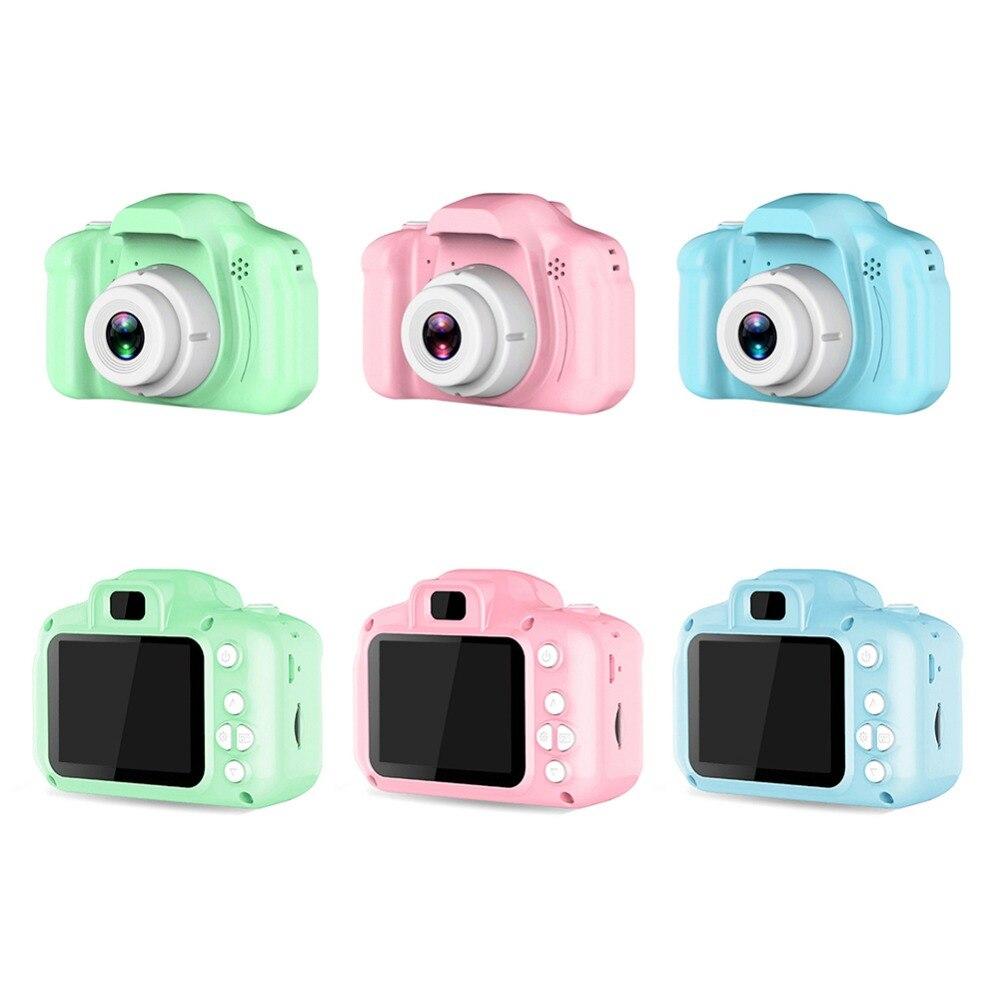 Haeaae546e3794a9794925279cfac6840L HD Screen Chargable Camera Outdoor Digital Mini Camera Kids Cartoon Cute Camera 2 Inch Photography Props For Child Birthday Gift