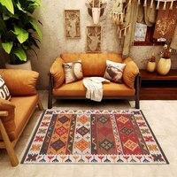 Moroccan Turkish Carpet For Living Room Bedroom Large Area Rug Sofa Table Anti Skid Antifouling Cushion Kilim Floor Room Mat