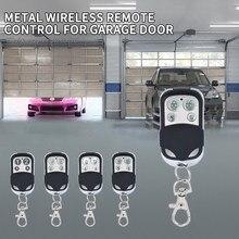 4 chaves chaveiro 433mhz módulo receptor de controle remoto sem fio rf transmissor portão clonagem elétrica porta garagem para casa