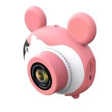 """16MP HD Дети миниатюрный Портативный цифровой видеокамеры с 2,"""" ЖК-экран с стикер с рисунком из мультфильма для детей Fotografica подарки"""