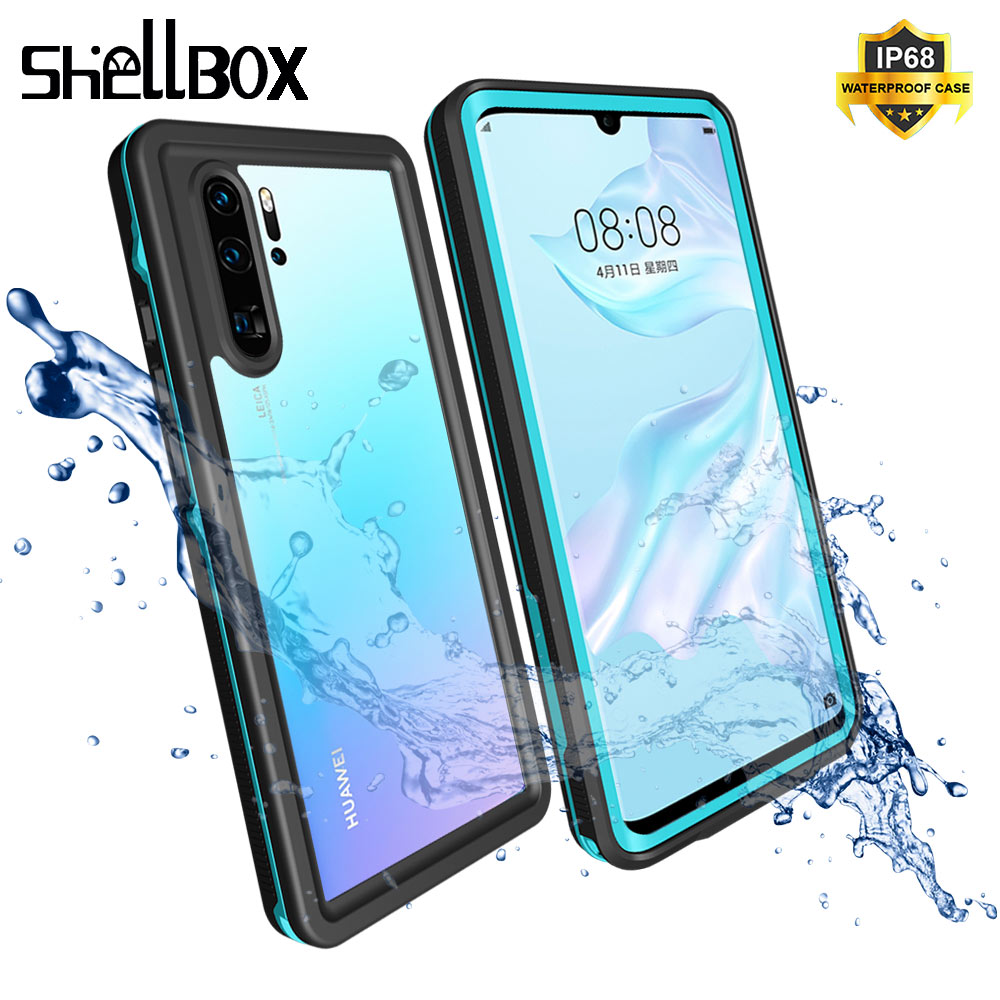 Waterproof Case for Huawei P30 Pro Mate 20 Pro Cover Shockproof Dustproof Swim Case For Huawei Nova 3e P20 Pro Underwater Case Fitted Cases     - title=