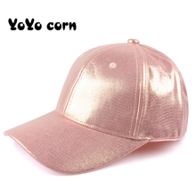 YOYOCORN Glitter Ponytail Baseball Cap Women Snapback Dad Hat Messy Bun Summer Female Adjustable Hip Hop Hats