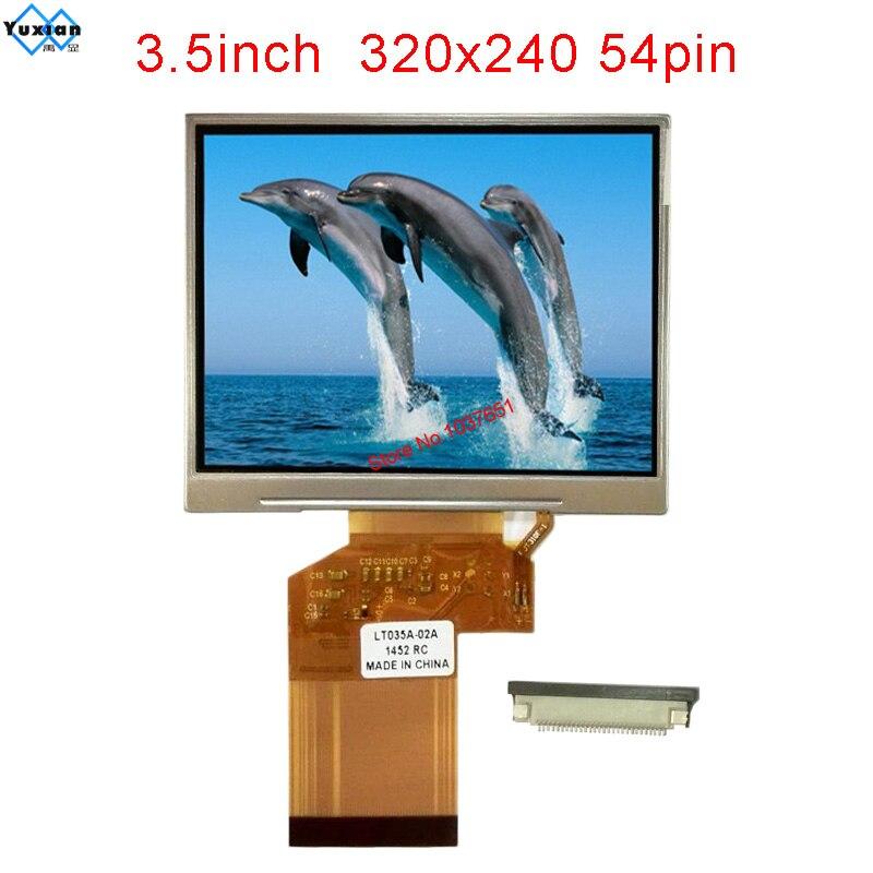 3.5inch TFT LCD Module 8 Bit Mcu 320x240 Ssd1926 Lcd Display Screen HX8238 TTL 54pin  LT035A-02A  LQ035NC111 TM035KDH03