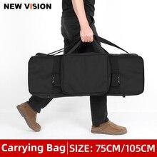 Taşınabilir taşıma çantası stüdyo flaş ışığı ve Tripod ışık standı taşıma çantası fotoğraf stüdyosu flaş çantası kitleri